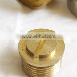 High precise brass machinning
