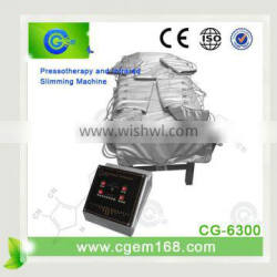 CG-6300 New arrival !!! professional pressotherapy equipment for fat loss