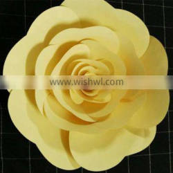 colorful paper flower event stage decoration with paper craft