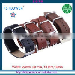 FS FLOWER - Wholesales Watches Strap Claf Genuine Leather Strap