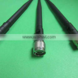824-2170MHz 3dBi GSM DCS WCDMA Whip Antenna With Customized Connector