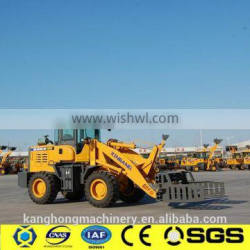 weifang 20F mini loader with joystick/pallet fork / snow blower