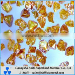 Amber transparent cubic boron nitride CBN powder for grinding wheel