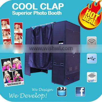 2014 Customize Digital Photo Booth For Wedding Party Events Photobooth Studio