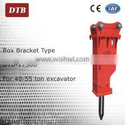 Zhejiang 40 to 55 ton excavator attachment rock hammer tools