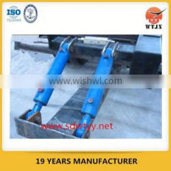 telescopic hydraulic cylinder for small tipping vehicle