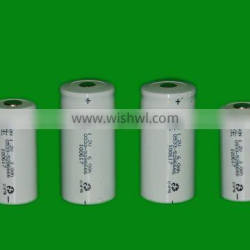Dison Superior quality 4000mAh for emergency light high temp D size ni-cd battery