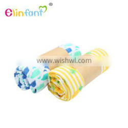 Elinfant new print blankets baby swaddle muslin blanket in gift box