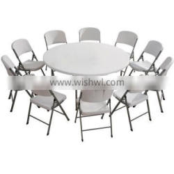 Factory plastic child table round table for sale