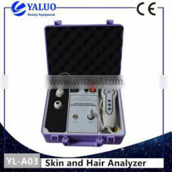 Portable Bxy High Quality skin and hair analyzer with ce