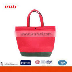 Hot Sale Customized High Quality Colorful Felt Cosmetic Bag for Women