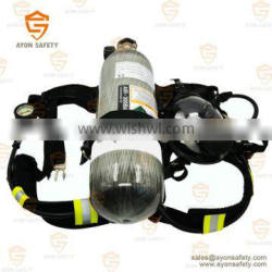 Safety Self-Contained Breathing Apparatus(SCBA) - Carbon fiber 9L for civil defence using-Ayonsafety