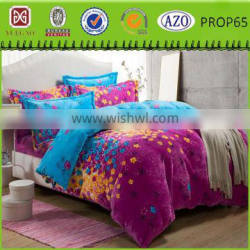 Cheap embroidery bedding sets beautiful bed sheet sets