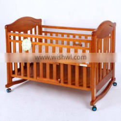 2015 best quality Wooden Baby cot
