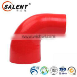 high temperature 32mm to 28mm Red 90 degree clear auto silicone reducer elbow hose