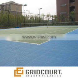 Gridcourt outdoor tennis courrt sports flooring