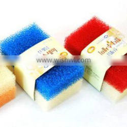 magic loofah cleaning sponge scrubber eraser for kitchen 023