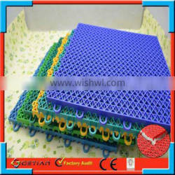 better than PVC and PP portable table court sports flooring