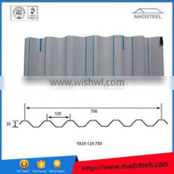 2015 New high quality and cheap colorful corrugated steel