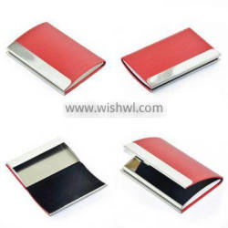 Aluminum ID Credit Card Holder Genuine Business Card Holder