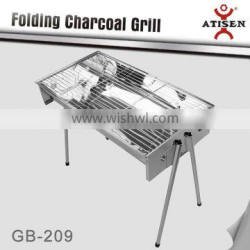2016 Newest hot sale european indoor bbq charcoal grill / GB-209