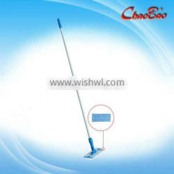 Wet and dry using microfiber flat mop