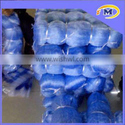 High quality blue color 100% nylon monofilament fishing gill net
