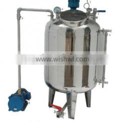 Stainles steel Vacuum mixing filter defoaming storage tanks