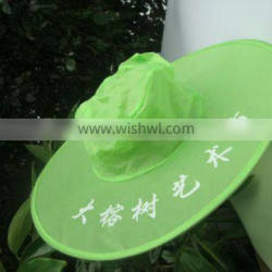New style fashion crazy foldable hat for travel