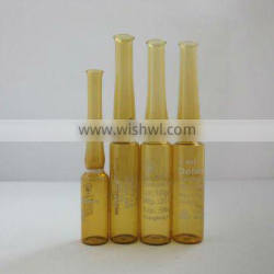 1ml amber ISO ampoule in stock