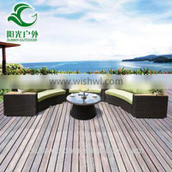 Wholesale European Style Used Outdoor Poly Leisure Rattan Garden Furniture Quality Choice