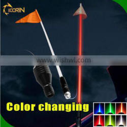 outdoor parts with remote control safety red orange lighted american lighted safety flag