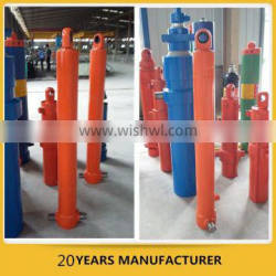 hook-lift telescopic main compressed hydraulic cylinder