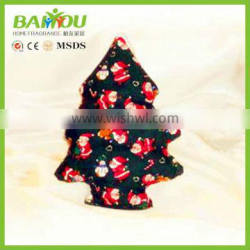 private label christmas promotional gift home air freshener sachet
