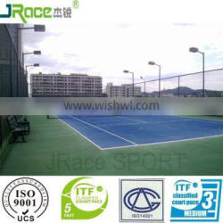 good cushion effect synthetic tennis court cover outdoor flooring for arena construction