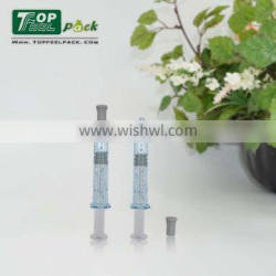 2015 New Style Cosmetic 2ml Syringe Bottle for Skin Care Product