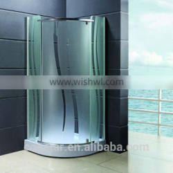 Low tray acid glass shower enclosure(601-5MS)