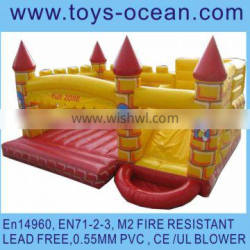 inflatable combo with water pool/inflatable interactive bouncer for kids/inflatable bouncer with slide