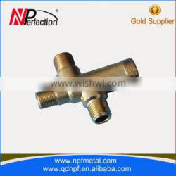 Low Cost High Quality Copper Forged Four Way Elbow