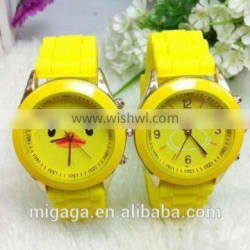 New arrival factory price silicone wholesale kids watch