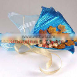 printed colorful embossed aluminum foil laminate paper for gift decoration