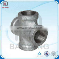 Forged High Pressure stainless steel 4-way cross pipe fitting