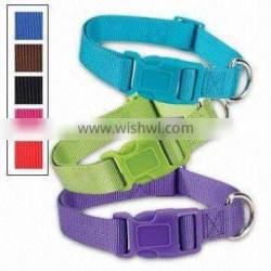 Newest wearproof nylon reflective collar for dogs wholesale