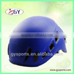 2015 HOT popular durable colorful Climbing helmets with PC outer shell impact-resistant EPS double-sided velvet Adjustable bla