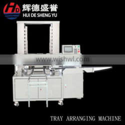 tray arranging machine for biscuit/mooncake/maamoul