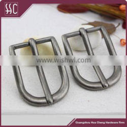 2016 new style metal pin buckle, fashion belt buckle