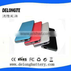 High-end quality Lipo battery 6000mah capacity portable phone charger