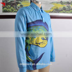 Cheap Sublimated Fishing Jerseys Quick Dry Quality Fishing Clothes