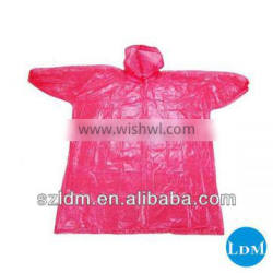 Cheap Plastic Rain Poncho With Sleeves