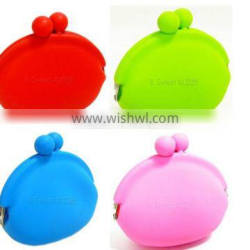 Ebey hot selling silicone rubber change purse,silicone purse